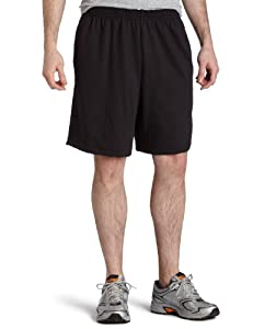 Champion  Men's Rugby Short,Black,X-Large