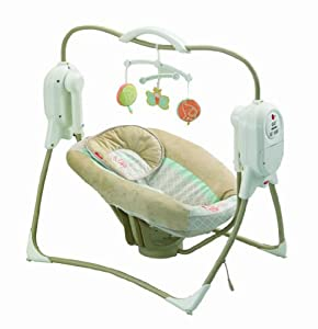 Fisher-Price Power Plus SpaceSaver Cradle 'n Swing