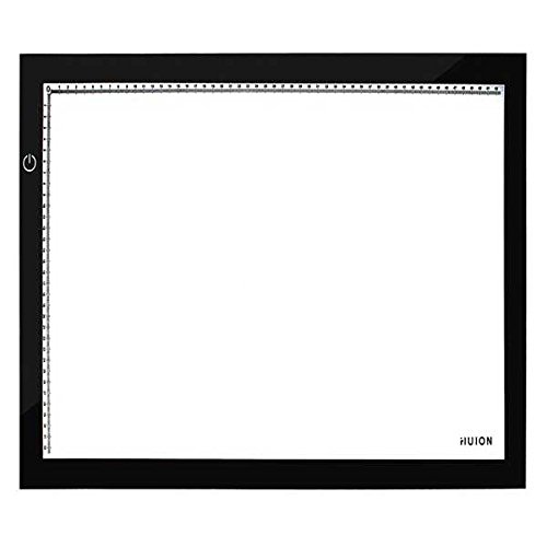 Huion A2 Ultra Thin Usb Led Light Tracing Board Light Box (Black)