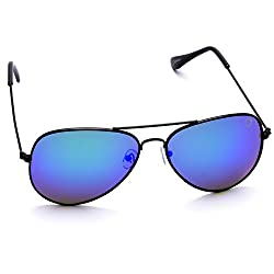 Optis Aviator Sunglasses (Black) (SRSXC1L4)