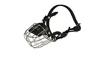 Dean and Tyler Wire Basket Muzzle, Size No. 0 - Yorkshire Terrier