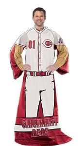 MLB Fleece Comfy Throw MLB Team: Cincinnati Reds by Northwest Enterprises