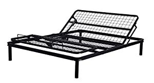 Primo International Fleet Metal Mesh Adjustable Electric Bed Frame With Head And Leg