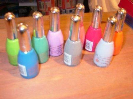 La Femme Nail Polish Set Of 9 Creams Colours image