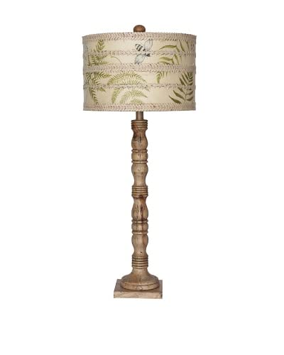 GuildMaster Fern Botanical Lamp As You See