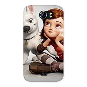 Bolto Multicolor Back Case Cover for Micromax Canvas 2 A110