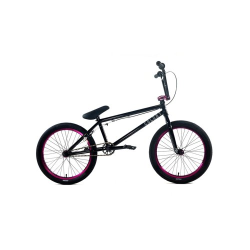 Colony Endeavour BMX Bike, Gloss Black with Purple, 20-Inch
