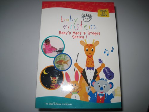 Baby Einstein Baby'S Ages & Stages-Series 1 (6 Dvd Set) front-340134
