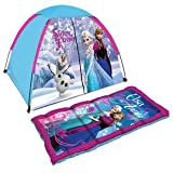 Beautiful Disney Frozen Dome Tent with Sleeping Bag Indoor/outdoor Camp Set