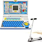 Children Educational Learning Laptop + Mini Scooter for kids