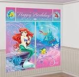 Disney Princess Little Mermaid Ariel Scene Setter Wall Decorating Mural Kit
