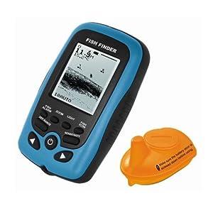 Signstek FF-011 Wireless Fish Finder FishFinder With Round Sonar Sensor White LED... by Signstek