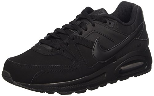 Nike Air Max Command Leather Scarpe da ginnastica, Uomo, Nero (Black/Black Anthracite), 43