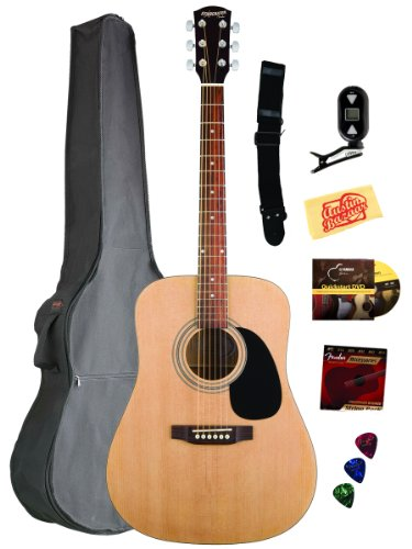 Fender Starcaster Acoustic Guitar Bundle with Gig