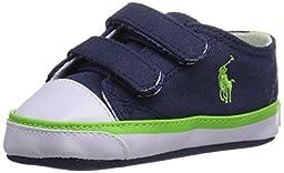 Ralph Lauren Layette Carson II EZ Velcro Athletic (Infant/Toddler), Navy, 0 M US Infant