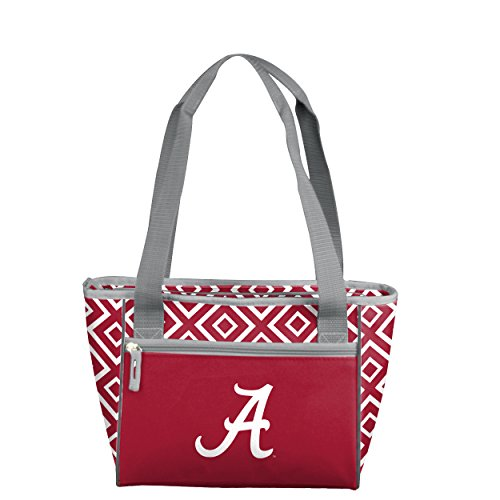 NCAA Alabama Crimson Tide DD 16 Can Cooler Tote, Adult, Red