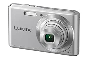 Panas photos. dig. dmc-f5eg-s 14MP, 5x optical zoom silver, 28mm wide, lcd 2. 7'', VideoHD, panorma