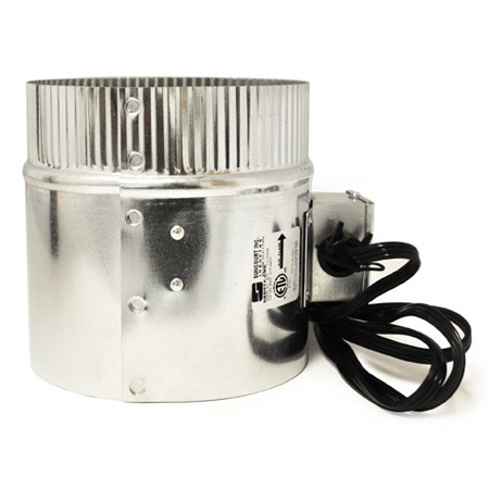 "Suncourt -- Inductor 6"" In-Line Duct Fan With Cord (DB6GTP-CRD) at Sears.com"