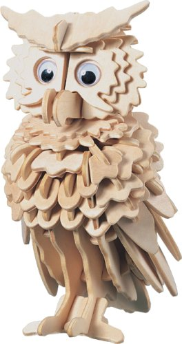 Owl - Woodcraft Construction Kit