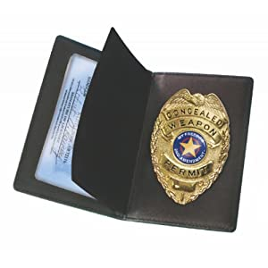 PS Products Black Concealed Weapon Permit Holder