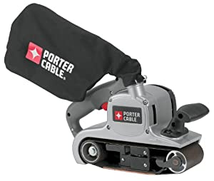 PORTER-CABLE 352VS 8 Amp 3-Inch-by-21-Inch Variable-Speed Belt Sander with Cloth Dust Bag