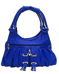 Vintage Stylish Ladies Handbag Blue(bag 117)