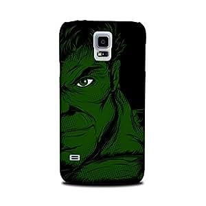 Samsung Galaxy S5 Designer Printed Case & Covers (Samsung Galaxy S5 Back Cover) - Superhero Hulk