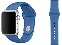 ProElite 38 mm Silicon Wrist Band Strap for Apple Watch - Royal Blue [*Watch NOT included*]