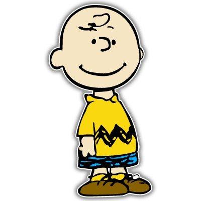 """スヌーピー チャーリーブラウン Snoopy No3 バンパーステッカー デカール 3"""" x 5"""" カーステッカー (並行輸入品)"""