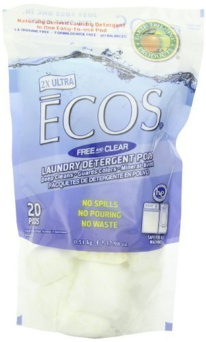 earth-friendly-products-free-and-clear-laundry-detergent-pods-ecos-1798-ounce-by-earth-friendly