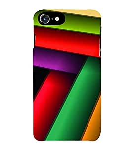 HiFi Designer Phone Back Case Cover Apple iPhone 6S :: Apple iPhone6S ( Colorful Pattern Design )