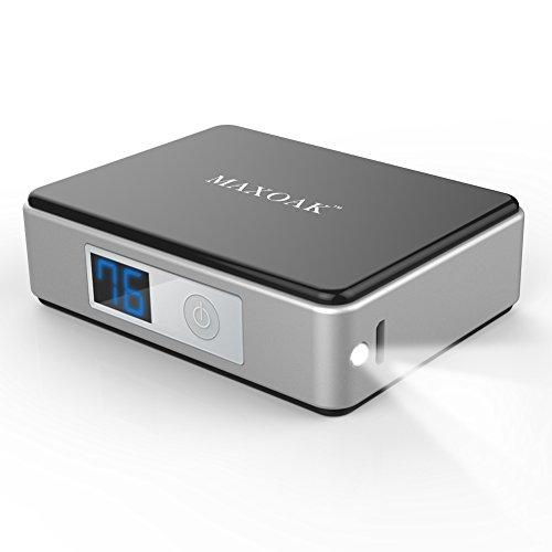 KAYO MAXTAR 5200mAhモバイルバッテリー 超小型急速充電器 APPLE IPHONE IPOD XPERIA SAMSUNG GALAXY NEXUS ANDROID他対応-ブラック