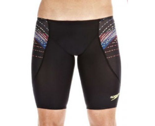 SPEEDO Fastskin3 Men's Pro Jammer, Black/Blue, SR8