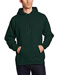 Hanes Men\'s Pullover Ultimate Heavyweight Fleece Hoodie, Deep Forest, XX-Large