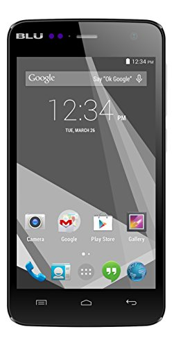 "Blu Studio C Mini Quad Core, 4.7"" Ips, Android 4.4 Kk, 4G Hspa+, 5Mp Camera - Unlocked Cell Phones - White"