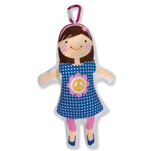 "North American Bear Company Sophie & Lili Lili 7"" Doll"