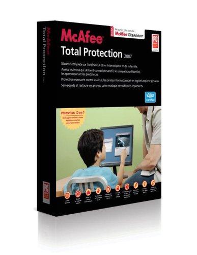 Mcafee Total Protection 2007 - Ensemble Complet - 3 Utilisateurs - Cd - Win - Français