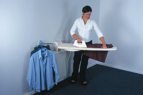 LifeStyle OSU-01 Full Wall Mounted Ironing Center (Fold Down Iron Board compare prices)