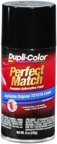 Dupli-Color BTY1566 Black Metallic Toyota Exact-Match Automotive Paint - 8 oz. Aerosol (Auto Paint Metallic Black compare prices)