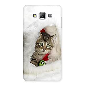 Ajay Enterprises WoCat Hiden In White Back Case Cover for Galaxy A7