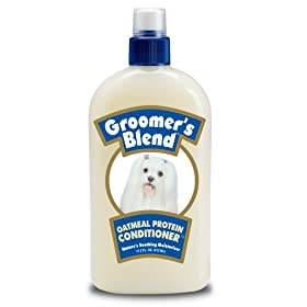 Synergy Groomer's Blend Oatmeal Protein Conditioner, 17.3 Ounce