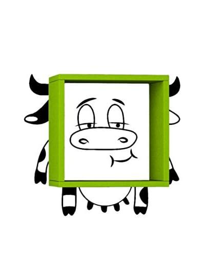 Thuis Mania Wandplank Cow Green