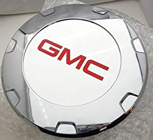 CADILLAC ESCALADE 22″ CENTER CAPS SET OF 4 WITH RED GMC LOGOS FITS 2010 THRU 2013 ONLY