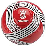 Brine King 250 Soccer Ball (Scarlet, 4)