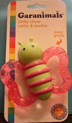 Garanimals Chilly Chew Rattle & Teethe from Sassy, Inc.