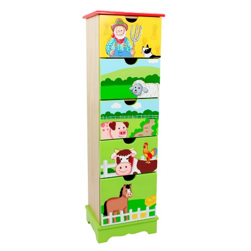 Painted Wood Dressers front-470384