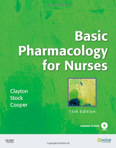 Basic Pharmacology for Nurses, 15th Edition