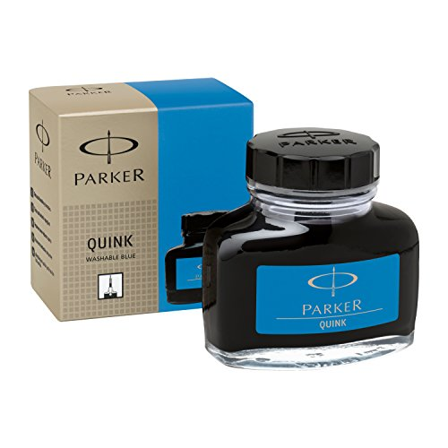 parker-s0037480-tintenfass-mit-flussiger-quink-tinte-auswaschbar-57-ml-blau