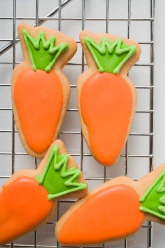 Easter Biscuits on Cooling Rack, Close up - 24