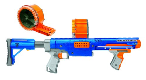 CS-35 Nerf Machine Gun Raider – Value Pack with Bonus 70 Darts
